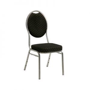 Mørk luksus stol til udlejning